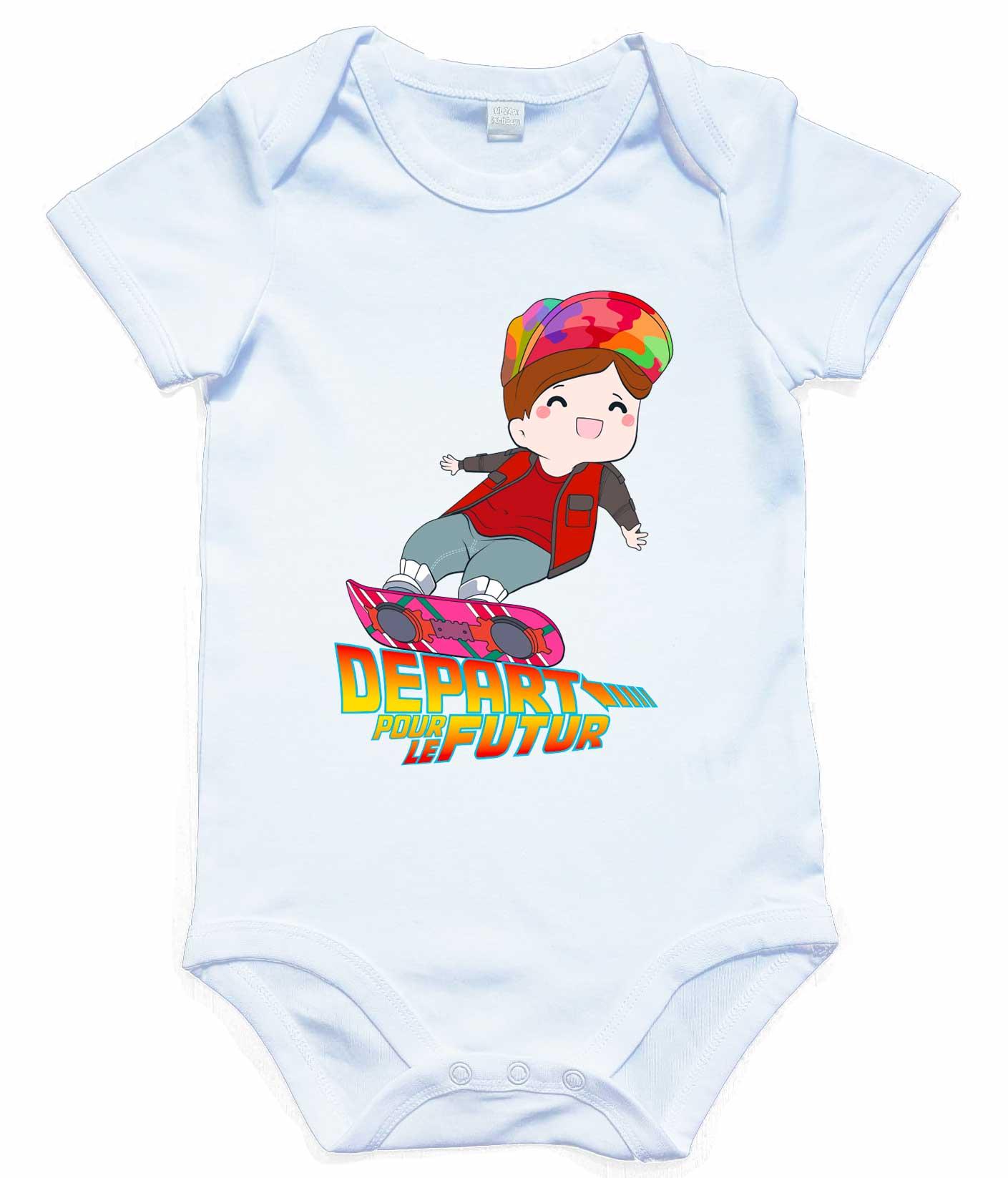 Body bébé Retour vers le futur - Poupishirt 1dfb50e9636